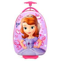 儿童拉杆箱小猪蛋壳佩奇女生16寸卡通男孩幼儿园行李箱旅行箱 16寸蛋形轮收藏送