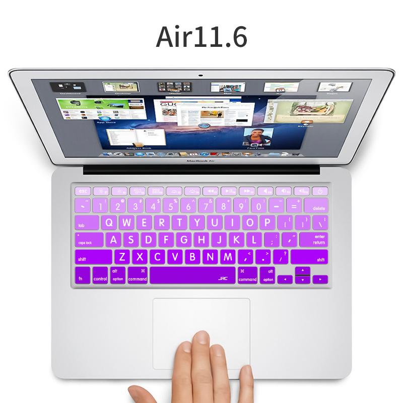 苹果笔记本超薄键盘膜Macbook Air/Pro 12/13/15渐变键盘贴膜SN5