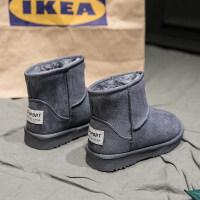 雪地靴女冬季新款韩版百搭保暖靴子加绒加厚短筒防滑鞋子短靴