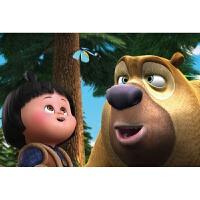 木质拼图300/500/1000片儿童玩具动漫熊出没熊大熊二光头强