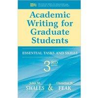 【预订】Academic Writing for Graduate Students: Essential Tasks