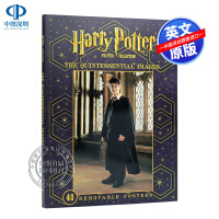 英文原版 哈利波特角色海报集 Harry Potter Poster Collection 周边