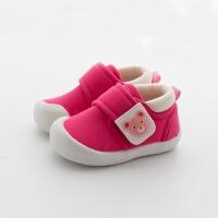 学步鞋夏女宝宝鞋子0一1-2-3岁春秋婴儿软底男童鞋机能鞋单鞋布鞋