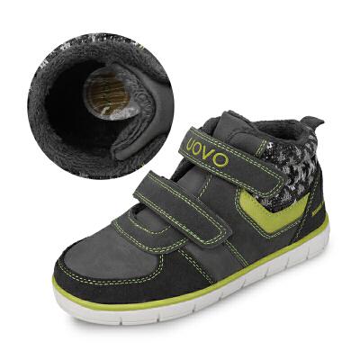 UOVO2019秋冬新款男童鞋保暖儿童运动鞋男童运动鞋时尚女童运动鞋 达沃斯P