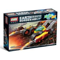 古迪地球边境2极速雷暴 启蒙益智组装拼插拼装塑料积木玩具8223