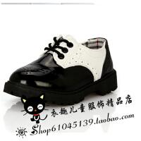 新款摄影皮鞋 黑色皮鞋 儿童黑色皮鞋 儿童摄影皮靴 男孩子皮鞋