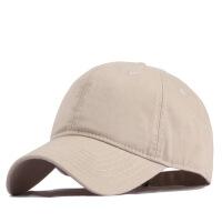 №【2019新款】冬天带的韩版新款水洗棉棒球帽男明星大头围帽子遮阳大码鸭舌帽