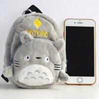 龙猫书包零钱包龙猫宠物狗人可爱女钥匙包手机相机包钱包零钱包
