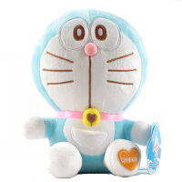 公仔毛绒玩具 蓝胖子机器猫叮当猫玩偶女生生日礼物