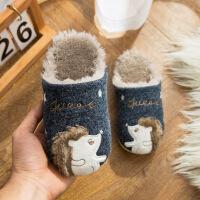 №【2019新款】小朋友穿的儿童棉拖鞋冬男童女童可爱小孩宝宝一家三口亲子冬天毛绒