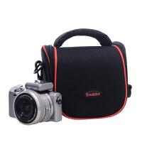 索尼微单相机包可爱ILCE-a6000L A6300 a5000a5100佳能M100M1
