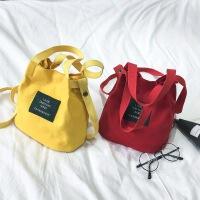 小包包女2018新款韩版手提包小布包手拎包帆布小号妈咪包迷你百搭