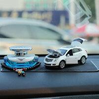 凯迪拉克SRX仿真合金车模型汽车车饰车内香水装饰品汽车模型摆件