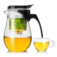 飘逸杯泡茶壶耐热玻璃简易茶具便携过滤茶水分离杯子泡茶器玲珑杯