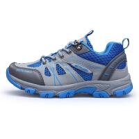秋冬季登山鞋男鞋真皮户外鞋防水防滑徒步鞋女鞋运动爬山鞋 A05月色女
