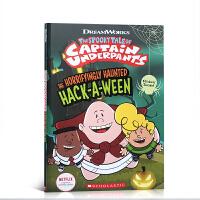 【全店300减100】英文原版 The Horrifyingly Haunted Hack A Ween 内裤超人系列