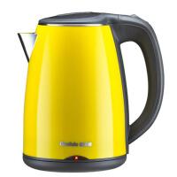 家用304不锈钢电热水壶双层防烫保温烧水壶开水壶