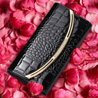 2018新款韩版版钱包女士长款时尚女式皮夹牛皮手拿包大容量钱夹