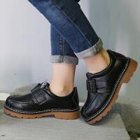 男童皮鞋2018春秋新款儿童单鞋中大童学生鞋英伦休闲鞋学生演出鞋