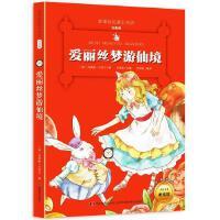 爱丽丝梦游仙境注音版小学生经典彩图名著畅销而儿童文