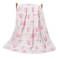 婴儿浴巾 宝宝儿童6层纱布毛巾被 新生儿大盖毯加厚