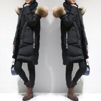 棉衣女中长款2018新款韩版时尚羽绒冬装加厚过膝棉袄冬季外