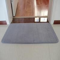 记忆棉防滑吸水地垫 厨房卧室卫生间门口浴室地垫慢回弹地毯垫子