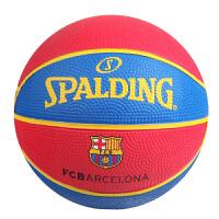 斯伯丁(SPALDING) 斯伯丁Spalding桌面摆设球赏迷你儿童橡胶篮球1号球 65-851Y