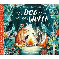 英文原版 吃了世界的狗 Sandra Dieckmann插画绘本 精装 The Dog that Ate the Wo