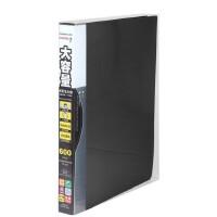 齐心 SC600 大容量PP活页名片册 A4 30孔600枚 600名名片册