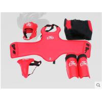 防撞运动防护儿童/成人散打护具全套搏击跆拳道护具五件套健身训练用品