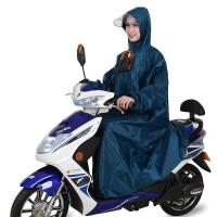 雨衣电动车有带袖子时尚男女单人钓鱼加厚电瓶摩托车雨披