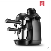 咖啡机家用意式小型全半自动蒸汽煮咖啡壶MD-2001