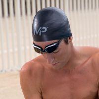泳帽男女 硅胶护耳时尚长发游泳帽3D泳帽