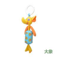 ?婴儿推车挂件毛绒布艺摇铃风铃床铃床头挂饰床挂宝宝玩具0-1-2岁?