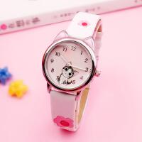 儿童手表女孩日本温暖小萌猫清新起司私房猫可爱卡通学生石英手表