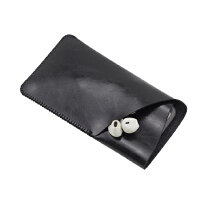 清仓苹果手机套iphone7保护套6s皮套7plus手机包 袋5.5包4.7 5.5加大Z角 亮黑