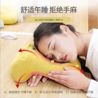 趴着睡午觉男女腰靠办公室睡觉神器午睡便携坐着靠枕硬座休息旅行