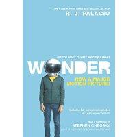 【现货】原版英文小说 Wonder Movie Tie-In Edition 奇迹男孩 R.J. Palacio 电影封面版 茱莉亚・罗伯茨主演  青少读物 励志小说 假期读物