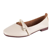 WARORWAR法国YM32-6666新品四季韩版平底鞋舒适女士玛丽珍鞋单鞋