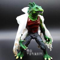 超凡蜘蛛侠 蜥蜴人沙人章鱼博士 关节可动人偶模型玩具 漫威礼物