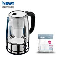 倍世(BWT) DK270加热过滤电水壶玻璃滤水壶净水杯1.2L 官方原装标配电热水壶 一壶一芯 至 十二芯 阻垢款