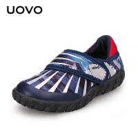 【1件2.5折价:42元】UOVO春秋新款儿童运动鞋男童魔术贴休闲鞋 纳米比亚
