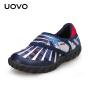 【69元2双】UOVO春秋新款儿童运动鞋男童魔术贴休闲鞋 纳米比亚