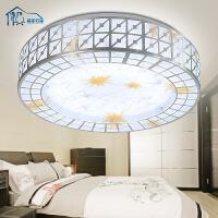 祺家LED吸顶灯卧室灯现代简约阳台灯厨房灯过道灯具餐厅灯饰WX02
