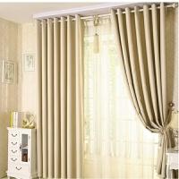 定制窗帘遮光主播直播背景卧室房间隔断短帘半帘可成品