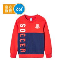 361度男童卫衣冬季新品套头字母卫衣 K51841302