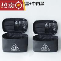 化妆包大容量旅行防水大号简约便携小方包化妆品收纳包洗漱包SN6069