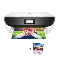惠普(hp)6220/6222彩色喷墨照片打印机 自动双面无线网络一体机多功能打印复印扫描一体机6222 标配