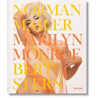 现货 玛丽莲・梦露影集 英文原版 塔森出版 Norman Mailer/Bert Stern. Marilyn Monr